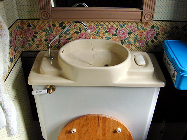Sink Over Toilet : Sink toilet: a toilet with a sink over to save water GadgetFolder ...