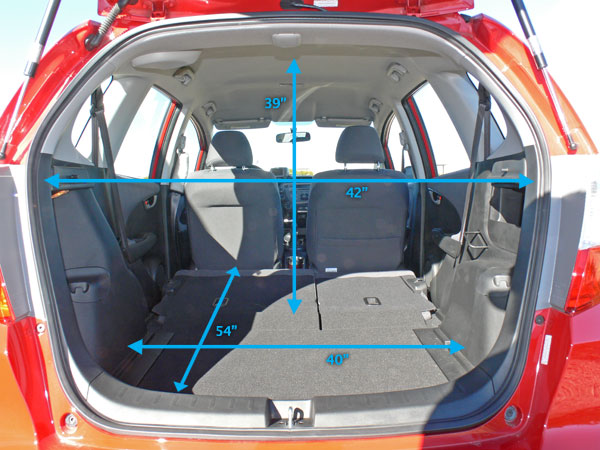 Honda Cr V Cargo Space Dimensions