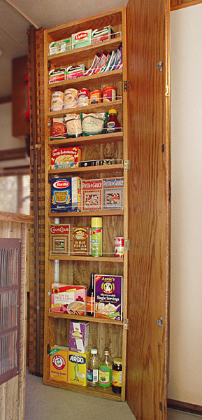 The Finished Pantry Closet, With Its Eight Movable Shelves Plus Bottom  Shelf, Adds 12 Shelf Feet Of Precious Storage Space To Gertie, Conveniently  Located ...
