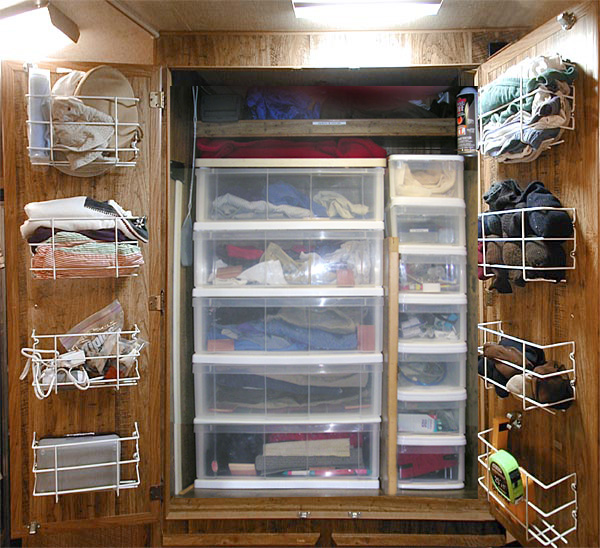 Improving Gertie: organizing storage