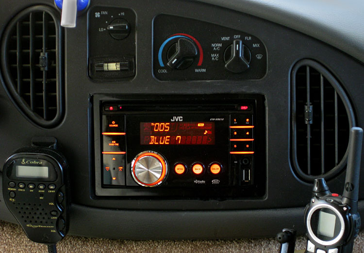 Dashboard radio